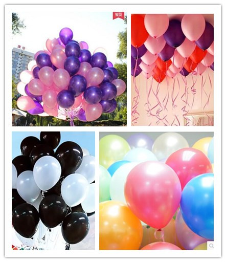 10pcs/lot 2.2g Latex Balloon Air Balls Inflatable Toy Wedding Party Decoration H