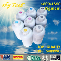 1000ML*8Pcs Quality Pigment ink for Wide Format suit for Epson 4800 4880 , water proof ink ,Anti UV , lasting