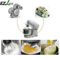 EU Type Electric Flour Egg Blender Milk shake Stirring Cooking Cake Baking Machine Tools Kitchen Stand Mixer Dough Mixers
