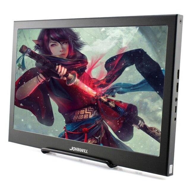HDMI Monitor Portatile da 13.3 pollici 2K per PC PS4 Xbox 360 Raspberry Pi 3 B 2B IPS LCD LED display del computer portatile