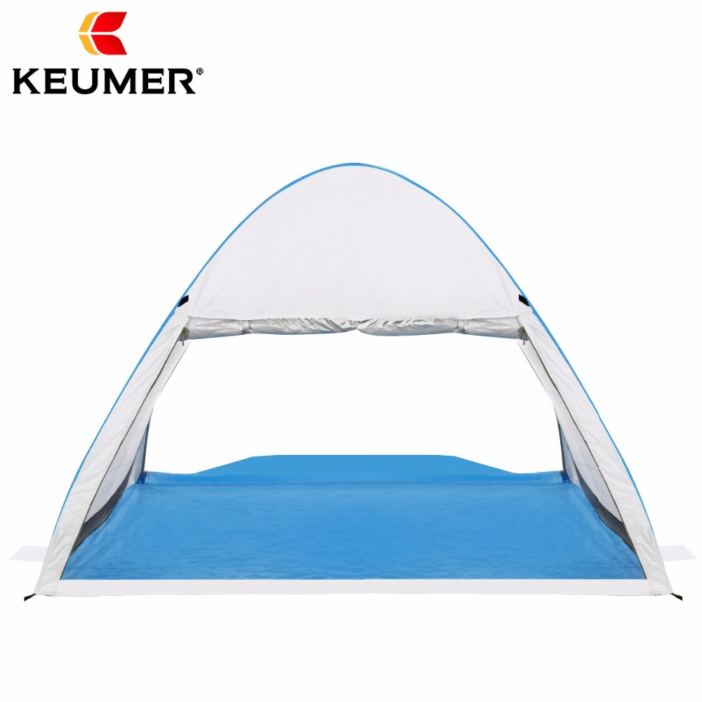 Instant Pop up Cabana Beach Tent 2 4 Person Camping Fishing Hiking Picnic Anti UV Beach Tent Sun Shelter Canopy Quick Set Up-in Sun Shelter from Sports & Entertainment    3
