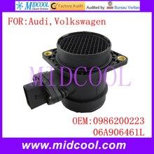 Новый Массового Расхода Воздуха Датчик использование OE-№ 0986200223, 06A906461L для VW Volkswagen Audi