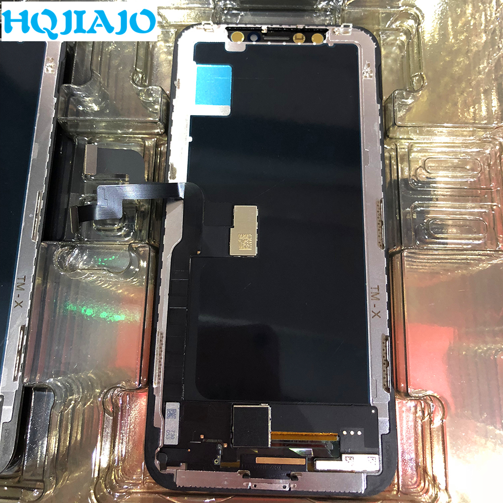100% Grade AAA LCD Display For Apple iPhone X Touch Screen Digitizer Assembly For Apple iPhone X Replacement AAA Quality TFT LCD100% Grade AAA LCD Display For Apple iPhone X Touch Screen Digitizer Assembly For Apple iPhone X Replacement AAA Quality TFT LCD