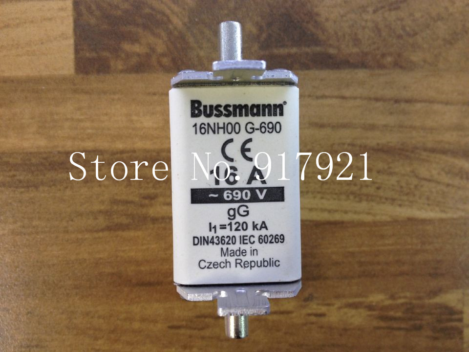 [ZOB] The United States Bussmann 16NH00 G-690 16A 690V fuse fuse original authentic  --3pcs/lot [zob] the united states bussmann 170m3817d 315a 690v fuse original authentic