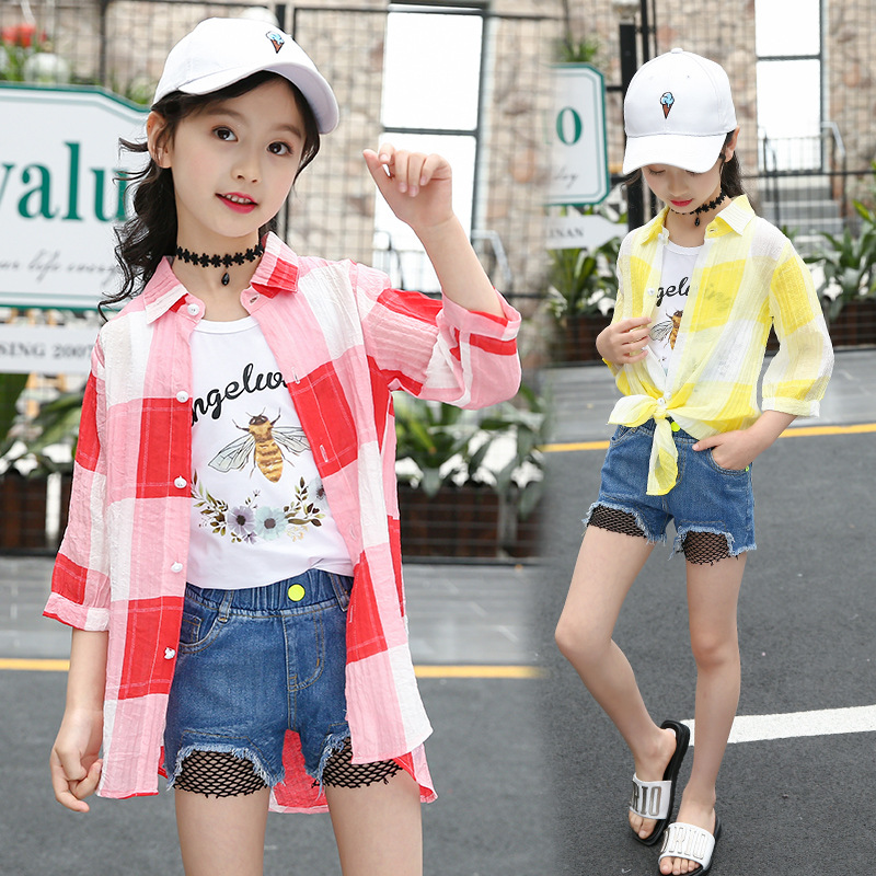 cab0f1be116 Toddler Clothes Set For Girls Plaid Summer Shirts + Vest 2pcs Children Clothing  2018 Back To School Outfits Teenage Kids Fashion - aliexpress.com - imall.  ...