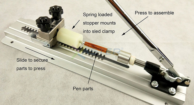 Turning Assembly & disassembly pen making tool Pen Assembly