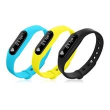 """C6 0,69 """"Zoll Smart Armband Smartwatch BT4.0 Armband Herzfrequenz Schrittzähler für Android Smartphone"""