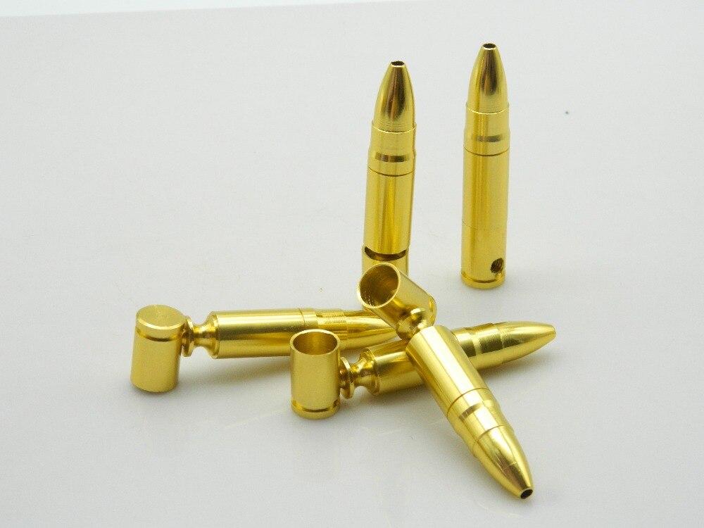 ▽3 unids o 10 unids 78mm mini Bullet Smoke metal Tuberías tubo de ...