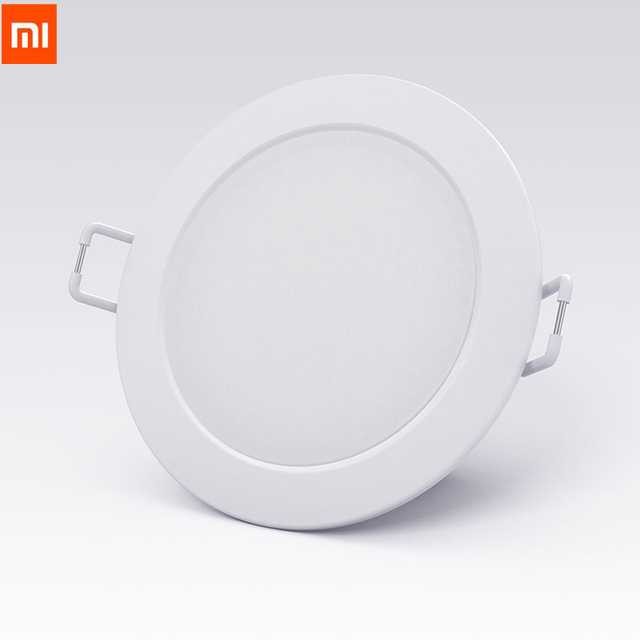 Original Xiaomi สมาร์ทดาวน์ไลท์ฟิลิปส์ Zhirui 220 V 3000 5700 k ปรับสีโคมไฟเพดาน App สมาร์ทควบคุม