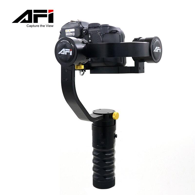 AFI Giroscopio Elettronico Fotocamera REFLEX Ammortizzatore Sospensione Cardanica Mini Handheld Stabilizzatore di Ripresa Fotocamera