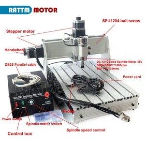 Image 2 - 3 ציר 3040 Z DQ CNC נתב חריטת כרסום קאטר מכונת עם 500W ציר 220V / 110V