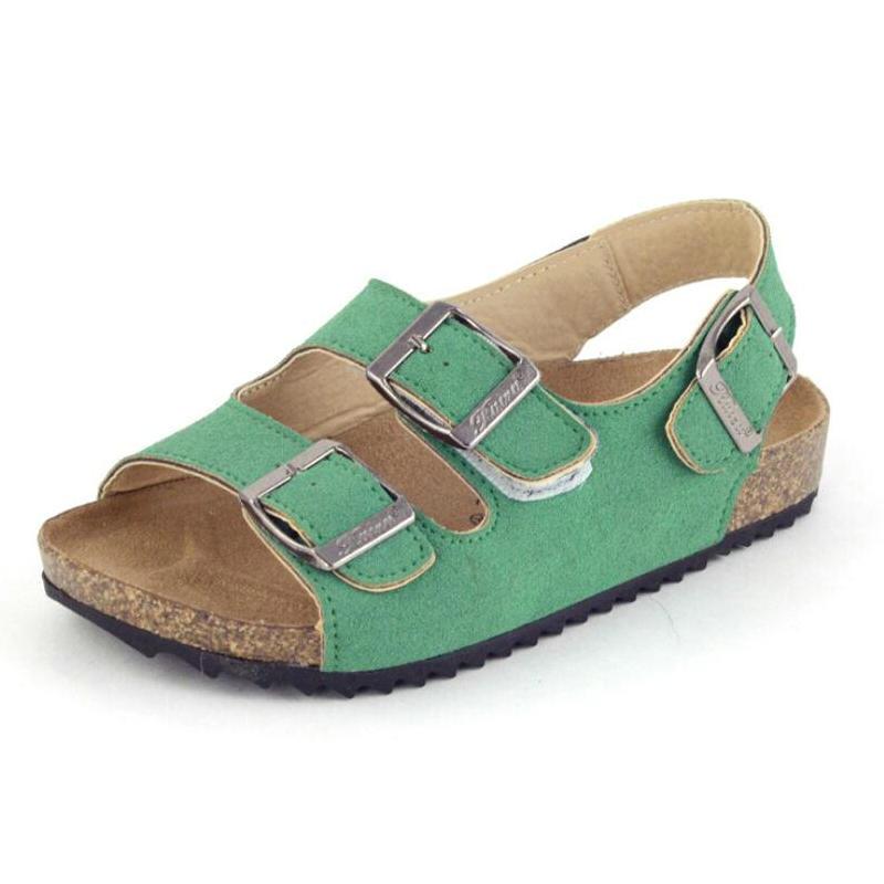 Mode Deutschland Kinder Strand Sandalen Mädchen Kork Sohle Kid Sandalen Für Jungen Freizeitschuhe Sommer Sapato Infantil Menino