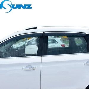 Image 5 - Window Visor for BMW X5 1998 2000 Side window deflectors rain guards for BMW X5 1998 1999 2000 SUNZ