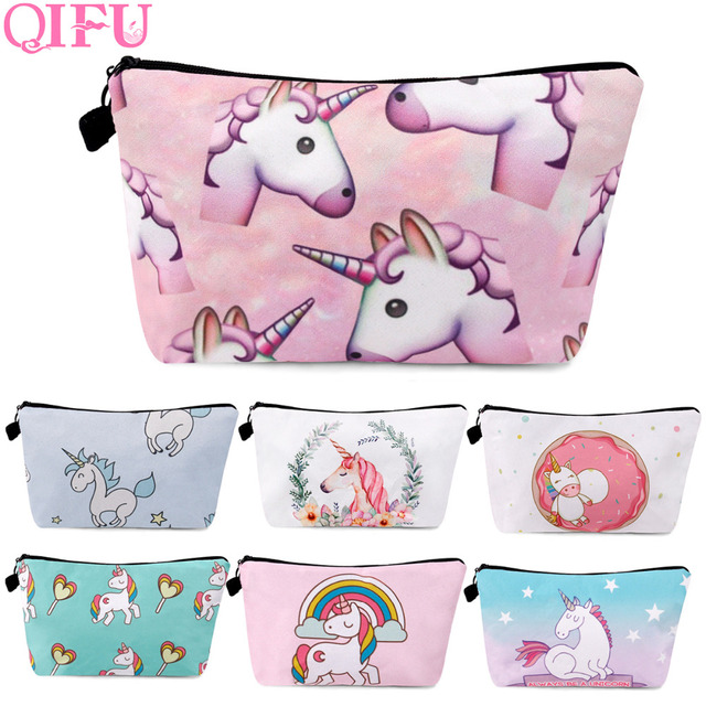 QIFU Unicorn Party Bags For Girl Happy Birthday Decorations Kids Gift Bag Decoration Favors