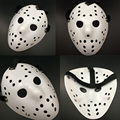 2016 Halloween WHite Porous Men Mask Jason Voorhees Freddy Horror Movie Hockey Scary Masks For Party Women Masquerade Costumes