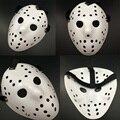 2016 de Halloween Blanco Poroso Hombres Máscara de Jason Voorhees Freddy Película de Terror Scary Máscaras de Hockey Para El Partido Mujeres trajes de Disfraces