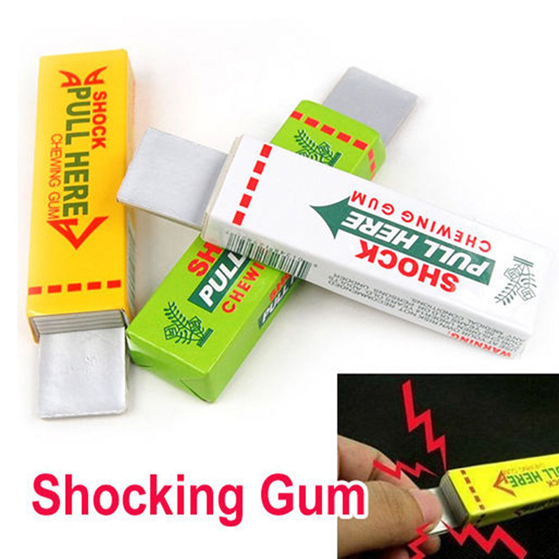 The Whole Person's Electrified Chewing Gum Tricky's April Fool's Day Props The Creative Vent Spoof Toy Shocking Toy