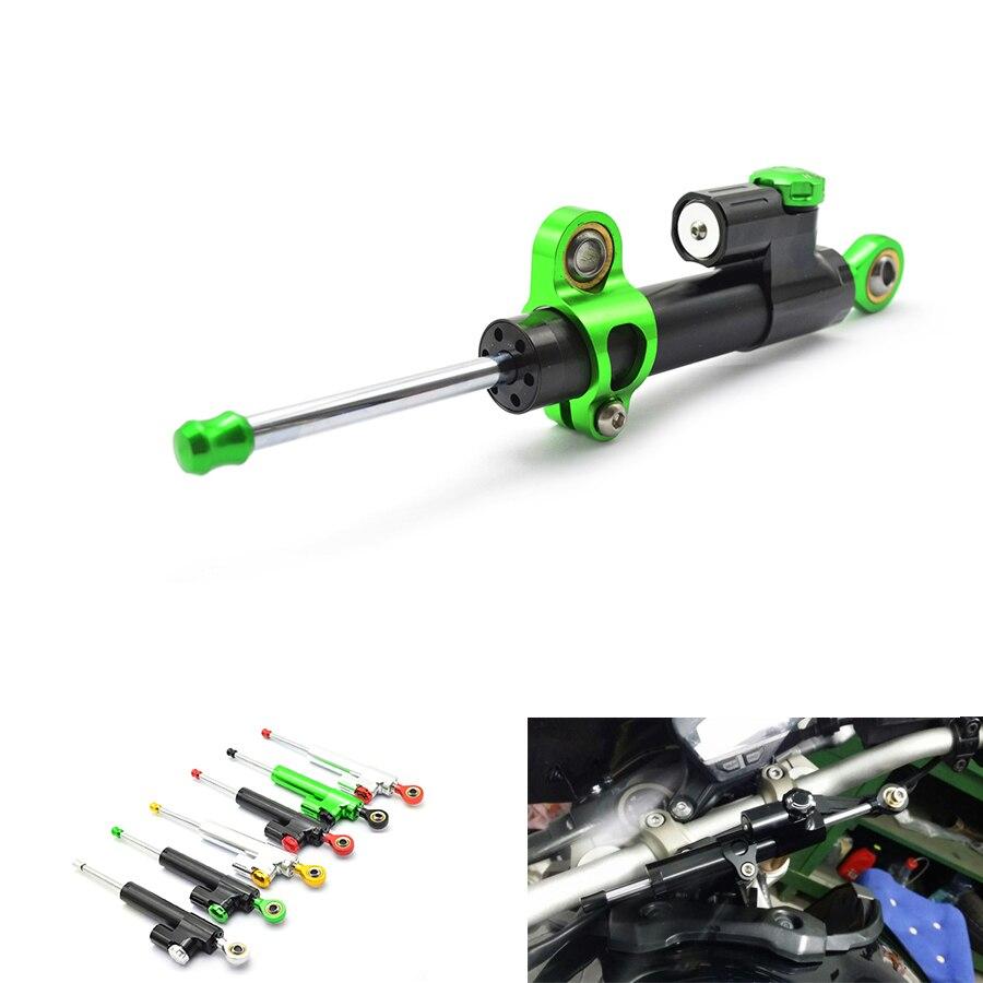 для Moto ЧПУ демпфер рулевой Стабилизатор Линейный вспять безопасности для Honda ЦБ РФ 1000 tmax500 530 БМВ, КТМ Р1 Р3 Р6 z800 для