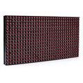 (3 шт./лот) 320*160 мм 32*16 пикселей P10 Открытый водонепроницаемый Красный светодиодный модуль для одного красный цвет P10 led сообщение дисплей модуль