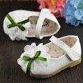 Bebé Recién Nacido 2016 Primavera Zapatos de la Marca de los Bebés infant Toddler Prewalker sapatos Princesa Antideslizante Zapatos Infantiles Del Algodón FW-014
