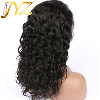 JYZ Curly Lace Front Human Hair Wigs For Black Women Brazilian Lace Wig Frontal Plucked Full End Pre Plucked Hairline Baby Hair