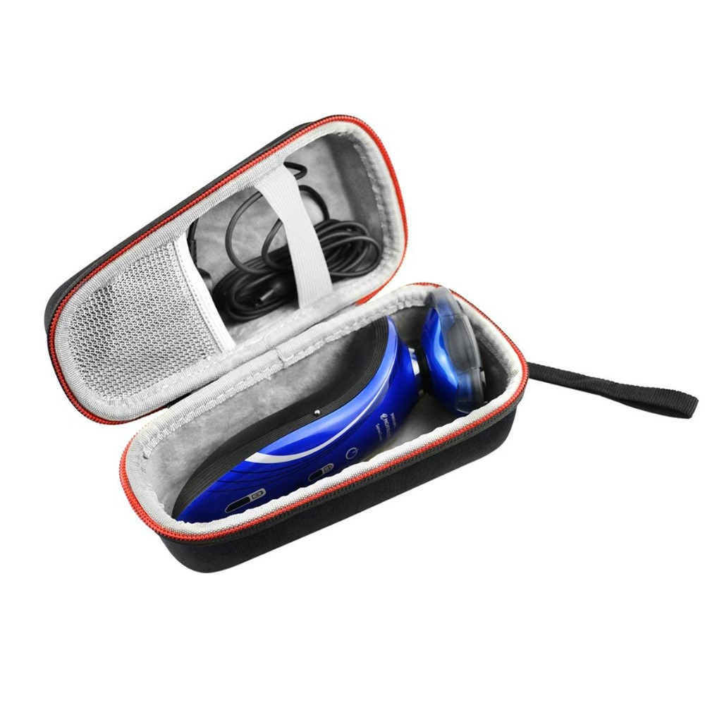 Hard Travel Case Bag for <font><b>Philips</b></font> Norelco Electric Shaver <font><b>5500</b></font>/5700/5100 6100 Wet & Dry S5370/81/S5370/84/S5210/81 1150X/46 image