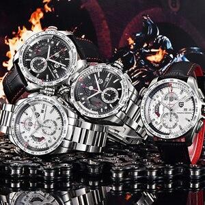 Image 3 - PAGANI DESIGN 2020 nowy Top luksusowe zegarki kwarcowe mężczyźni sport kalendarz wodoodporna stal nierdzewna zegarek wojskowy Relogio masculino
