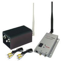 Hot Sale 1.2GHz 5KM long range wireless FPV video transmitter and receiver with 4 channels, 1.2g, 2000mW