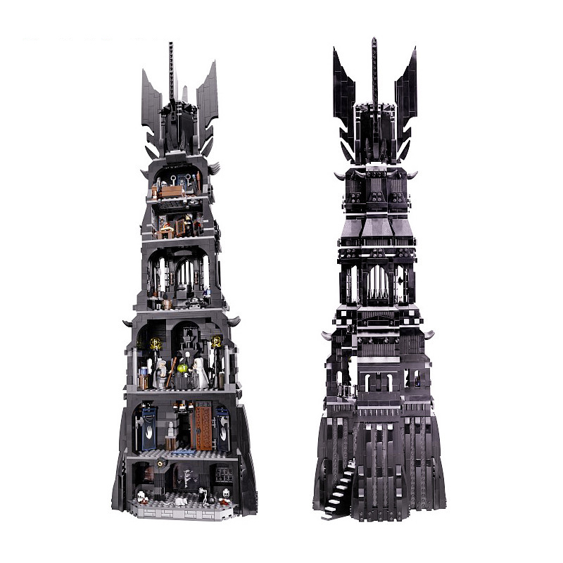 16010 2430Pcs Lord of the Rings The Tower of Orthanc Model Building Kits Blocks Bricks Toys Gift Legoing Friends 10237