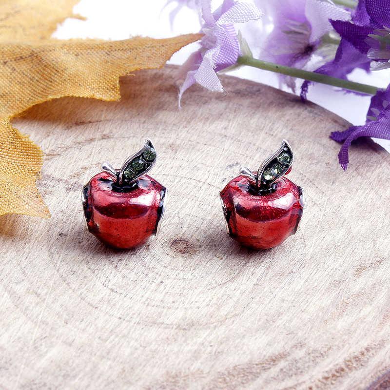 Paylor 2 шт./компл. красное яблоко зеленый с золотистыми вставками бисер бренд Подвески Браслеты для женщин ручная работа оригинальный серебряные ювелирные изделия изготовление