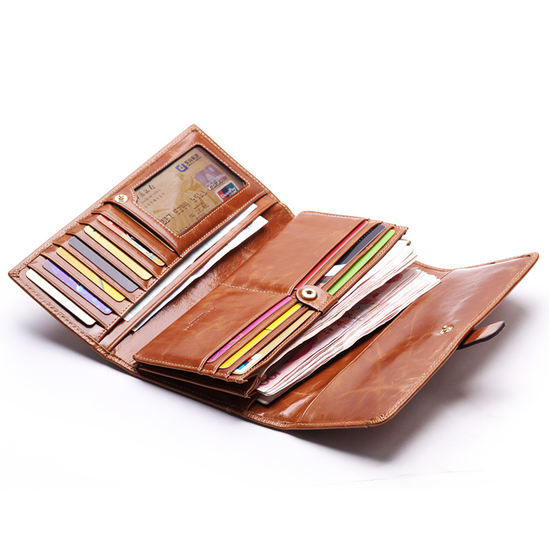 2c2d0768185a Borgasets fashion wallets for women genuine leather wallet women's ...