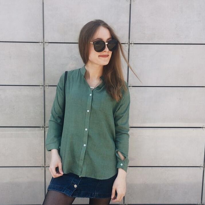 Dioufond Korean Style Women Shirts Autumn White V Neck Blouses