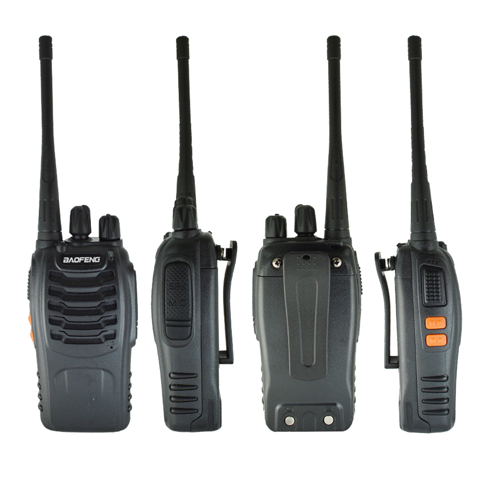 Image 2 - 1PC /2PCS Baofeng bf 888s Walkie Talkie Radio Station UHF 400 470MHz 16CH BF 888s Radio talki walki BF 888s Portable Transceiver-in Walkie Talkie from Cellphones & Telecommunications