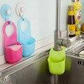 Nueva Plegable Creativo Colgando Bolsa de Almacenamiento Caja de almacenamiento de Baño cocina Gadget de Silicona de Silicona Caliente 2015