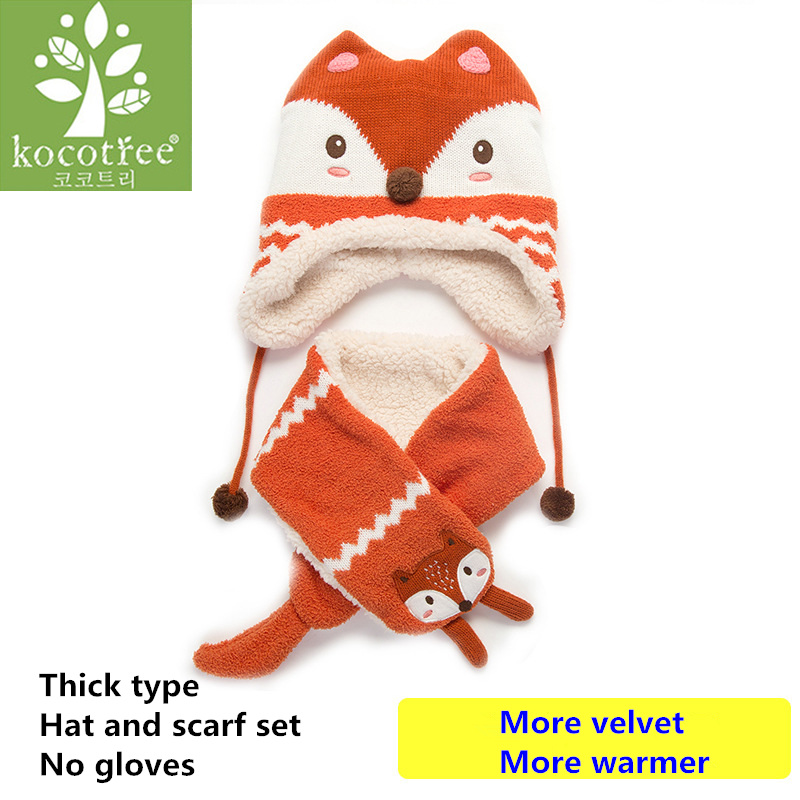 ... Thick hat scarf set ... d942aa7e447