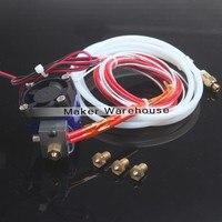 E3D V6 Hot End Full Kit 1 75mm 12V Bowden RepRap 3d Printer Extruder Parts Accessories