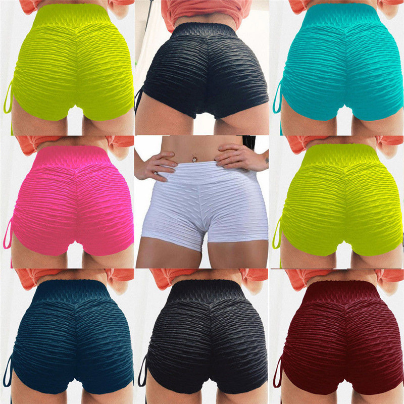 2019 Summer Fashion Women Sexy Side Strap Casual Sport   Shorts   Running Gym Fitness Bandage Solid   Short   Comfy Workout New Arrival