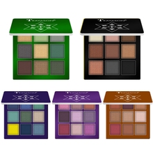 New 9 Colors Diamond Glitter Eye Shadow Palette 10 Choices Waterproof Long Lasting Shimmer Eyes Makeup