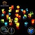 28LED 330 CM de vacaciones luces de Cadena para el Festival De Navidad Del Partido de Hadas Coloridas Luces de la Secuencia de Navidad Regalo de la novedad luz de la secuencia