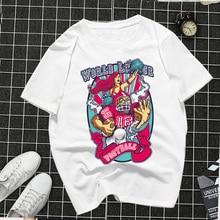 2019 Harajuku Fashion Gimmick Printed Funny T Shirt Women Summer Clothing Short Sleeve Feminism Tee White Cotton Femme