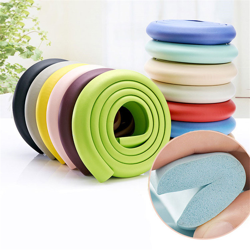 2M Baby Safety Soft Corner Protector Baby Desk Table Protective Strip For Kids Children  ...