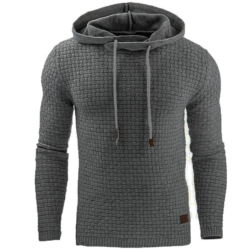 Hoodies Men Hoody Male Long Sleeve Solid Color Hooded Mens Sweatshirt Mens Hoodie Tracksuit Sweat Coat Casual Sportswear