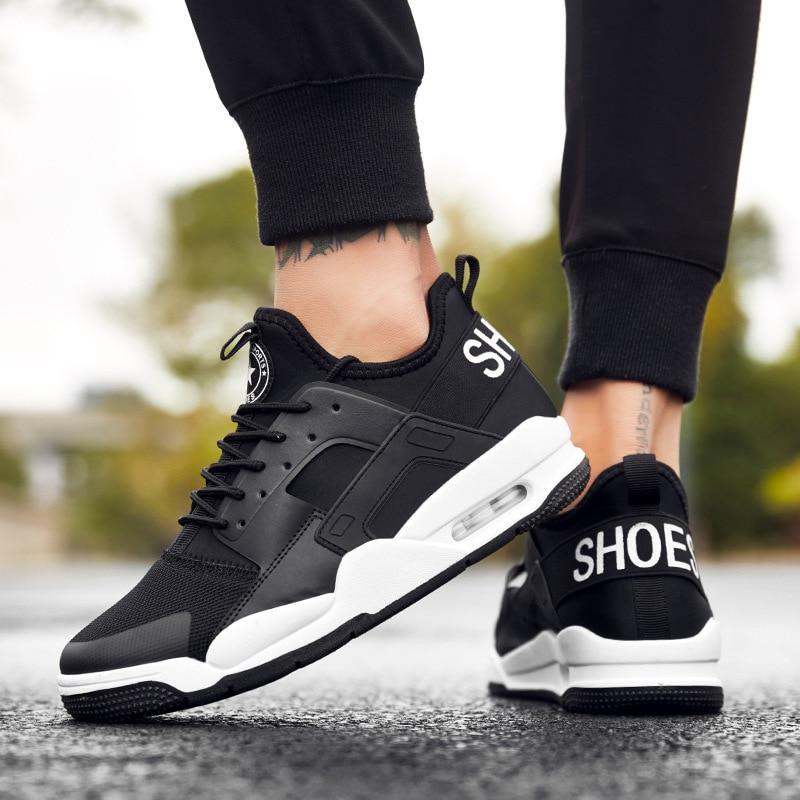 6e388b360 Винтаж кроссовки Для мужчин повседневная обувь дышащая мужская обувь  кроссовки спортивные модная трендовая обувь Комфорт Мужская