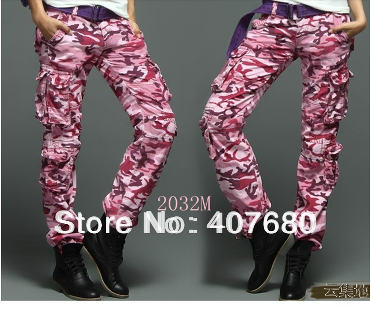 Popular Pink Cargo Pants-Buy Cheap Pink Cargo Pants lots from ...
