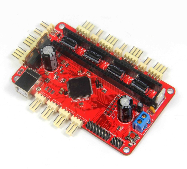 3 D printer accessory Teensylu V0.8 Hi3D RepRap Prusa Mendel top quality