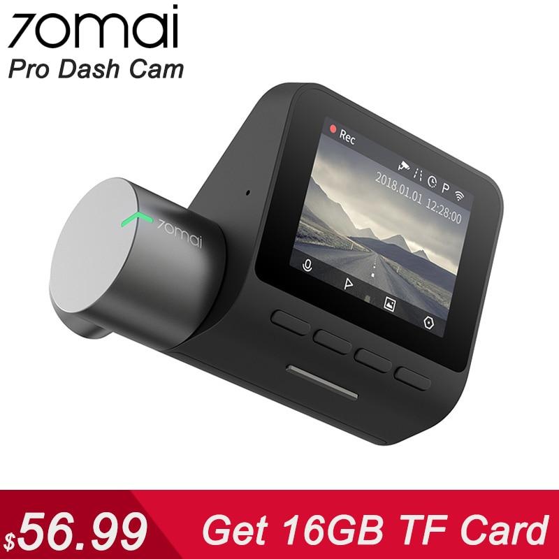 Xiaomi 70mai Pro Dash Cam Full HD 1944P voiture caméra enregistreur GPS ADAS 70 mai Wifi Dvr voiture 24H moniteur de stationnement 140FOV Vision nocturne
