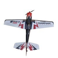 Flight Sbach 300 55inch 3D Electric Balsa Wood 3D Flying RC Fixed Wing Airplane Model