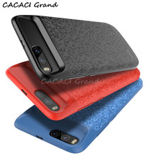 For xiaomi mi6 charging Case 5500mah Carbon Fiber Slim Backup Power Charger Cover Pack mi 6 Battery case