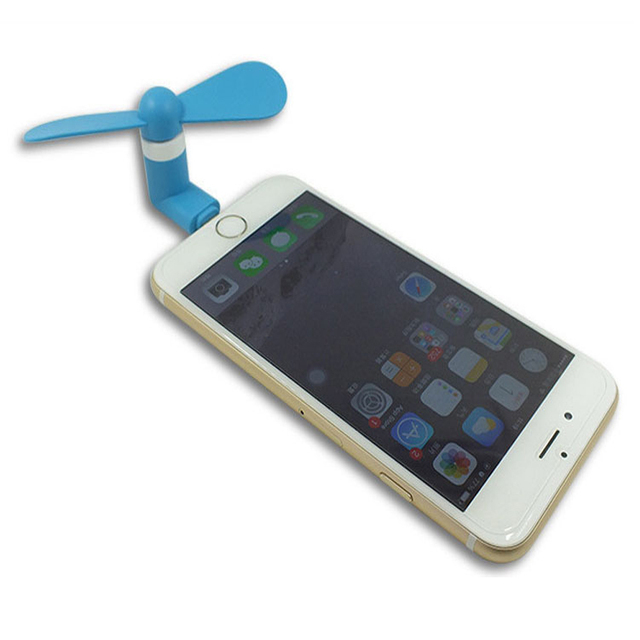 cool iphone chargers portable summer cool mini mobile phone fan for iphone 1263