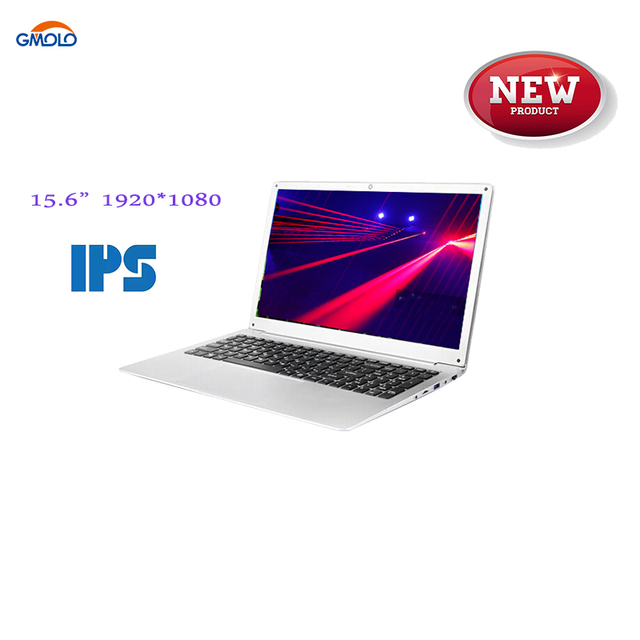 15.6inch ultrabook laptop DDR4 RAM 8GB + optional 240GB SSD or 1TB HDD 1920*1080 IPS  Celeron N4100 quad core gaming computers
